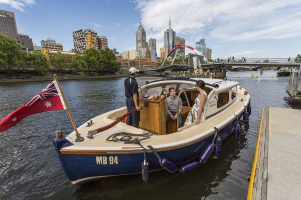 EAT. DRINK. WATERTAXI. TO THE FOOTY & MORE