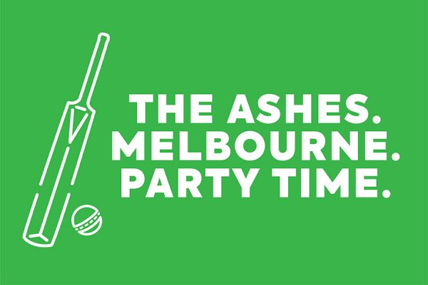 THE ASHES. MELBOURNE.